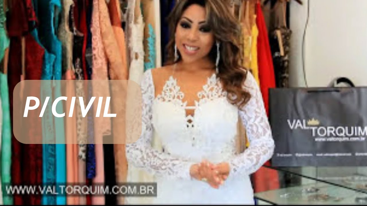 Como Escolher Vestido Do Casamento No Civil