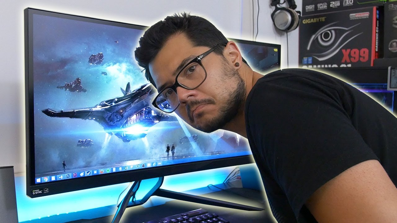 5 things I hate about the Acer Predator X34 (AKA Why I need a bigger desk)