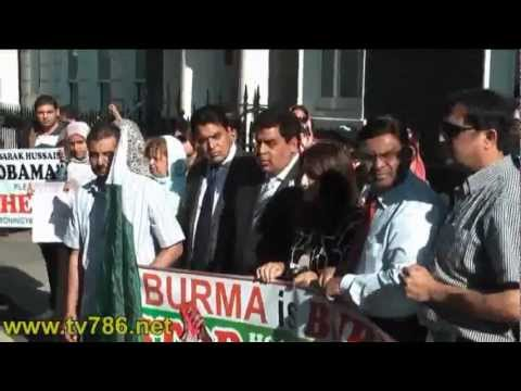London Burma High Commission's Attitude Against Peaceful Protesters