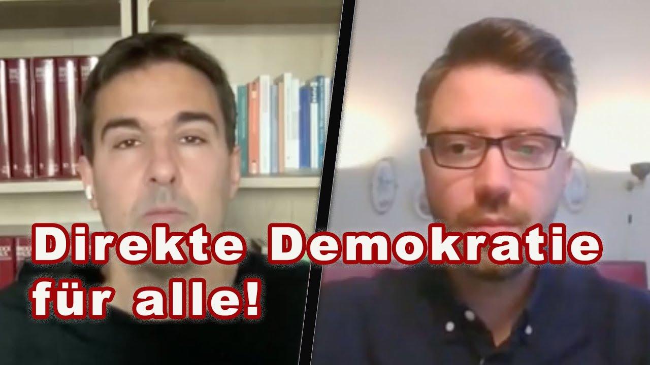 """Direkte Demokratie, bei der auch Menschen ohne Wahlrecht mit abstimmen –""""Die Basis"""" im Interview"""
