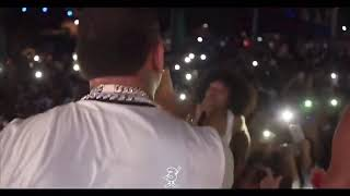 Yella Beezy Hands Fan A Mic At A Show And She SNAPS!