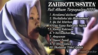 🔴 Best Song Zahrotussyita' Full Album 2020