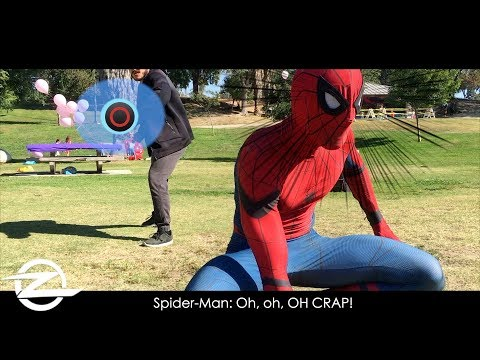 Spider-Man PS4 in Real Life Parkour & Crime Fighting
