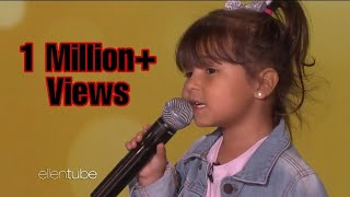Adorable Father-Daughter Duo Sings 'Señorita' | Most Watched Video | Viral Kids | The Ellen Show.