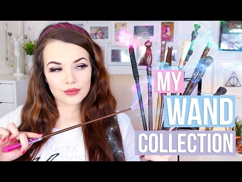MY HARRY POTTER WAND COLLECTION | Cherry Wallis