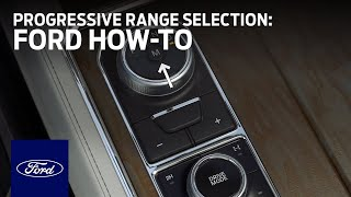 Rotary Gear Shift Dial With Progressive Range Selection | Ford How-To | Ford