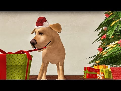 Happy New Year With Funny Dog