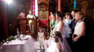 ГРЕЧЕСКАЯ свадьба. ВЕНЧАНИЕ в ГРЕЦИИ (2 часть)