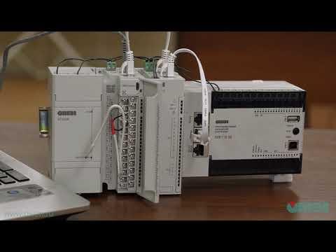 Видео 6. Подключение модулей Мх210 в среде программирования CODESYS V2.3