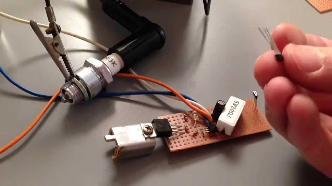 Hall Effect Transistor Ignition