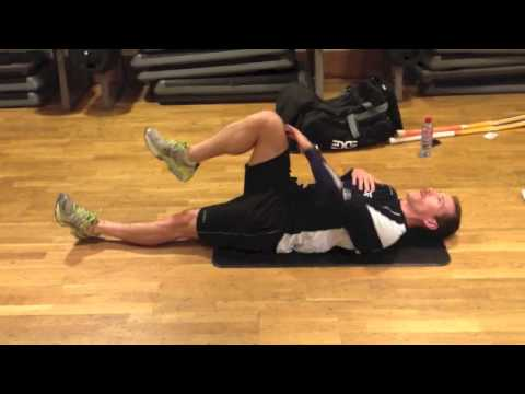 lower back rotation stretch  youtube