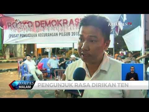 Diduga Ada Politik Uang, Warga Lampung Demo Ke Bawaslu