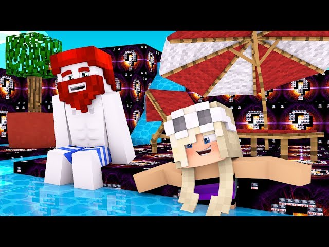 Minecraft Wasser Spielplatz aus SuperNova Blöcken