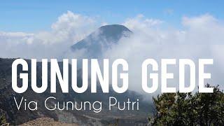 Gunung Gede Via Gunung Putri