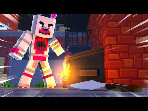 Funtime Foxy Wants To Be The Murderer Minecraft Fnaf Roleplay Adventure