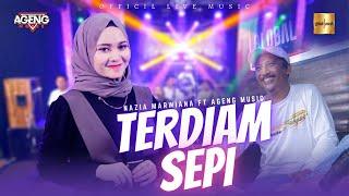 Nazia Marwiana ft Ageng Music - Terdiam Sepi | Andaikan Waktu Bisa Kuputar Kembali (Official Live)