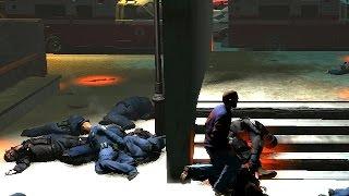 GTA 4 - War with police - Война с хунтой, Нико вернулся домой живым!