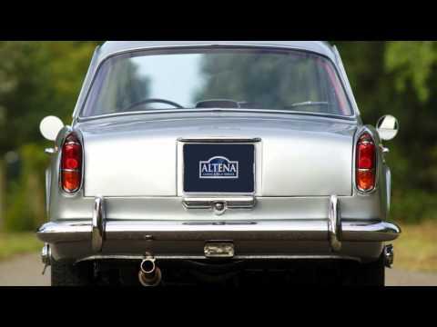1961 Triumph Italia 2000   HD photo video with fantastic sound!