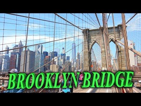 Brooklyn Bridge - New York 4K