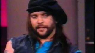 Steve Earle on Letterman 1988 (Copperhead Road)