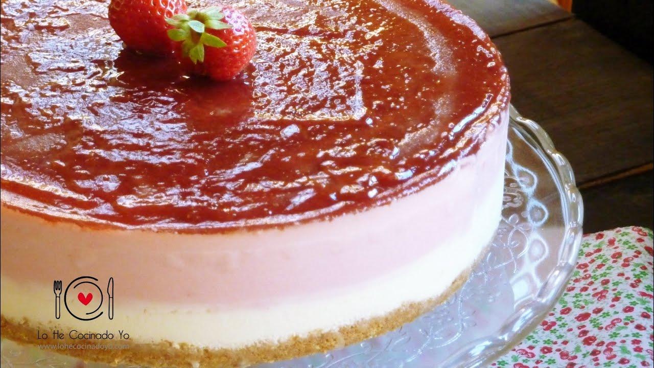 recetas tarta fresa