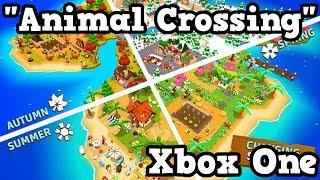 Animal Crossing Xbox One - CASTAWAY Paradise Gameplay
