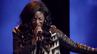 """Myshel singing """"Great Are You Lord"""" Embassy City Church Worship Team"""