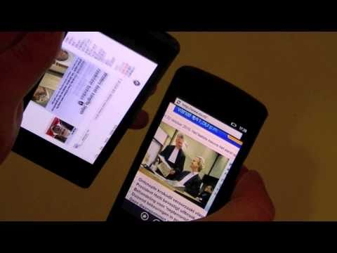 Dutch: Samsung Omnia 7 vs LG Optimus 7