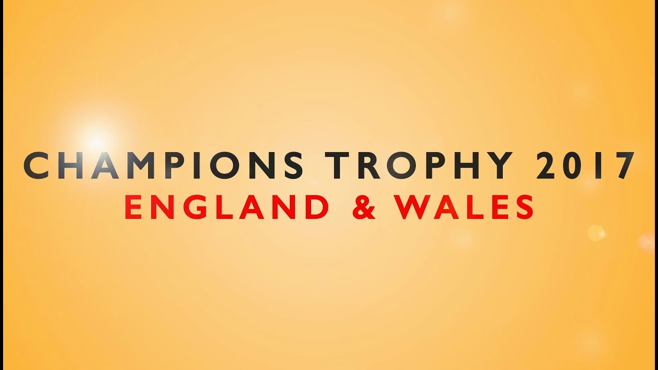 ICC Champions Trophy 2017 Groups