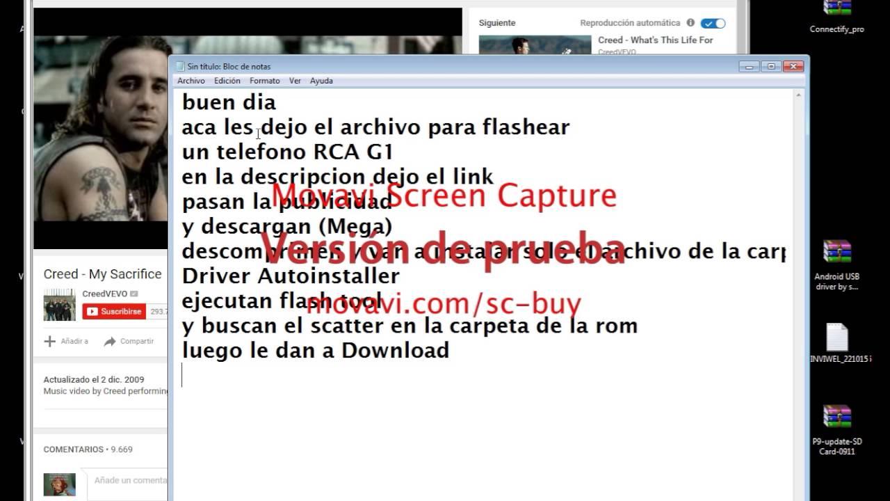 Rom RCA G1  Flashear RCA G1