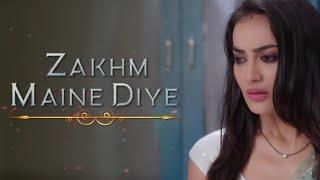 Zakhm Maine Diye Tujhko Kitne Magar........Nagin 3 Heart touching Full Song ❤️