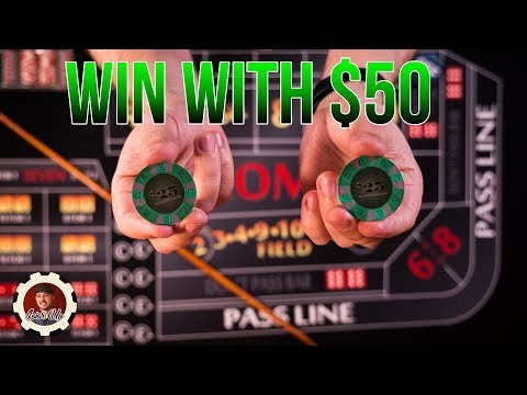 How to Win at Craps with only $50 - craps betting strategy