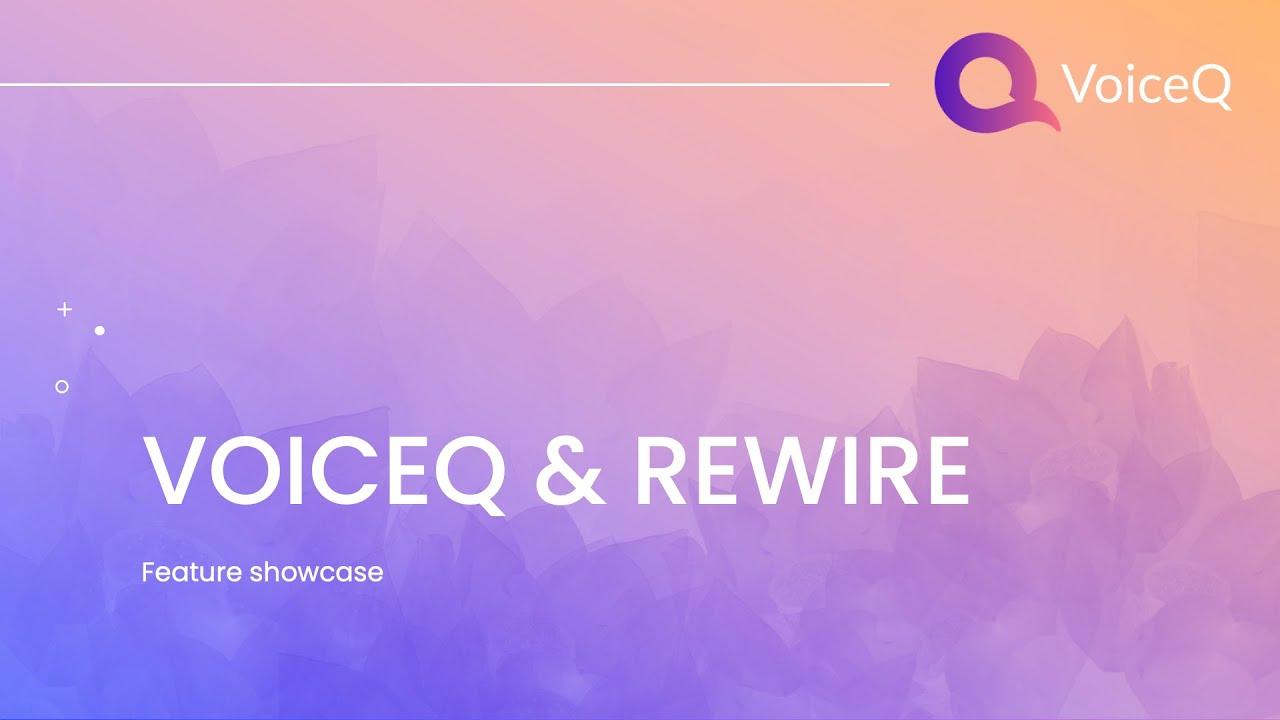 VoiceQ™ Tutorials - Setting up ReWire