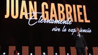 David Bisbal en el homenaje a Juan Gabriel