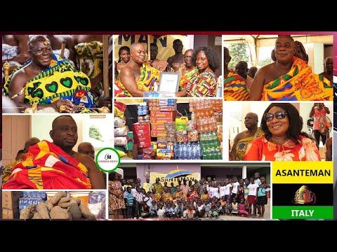 Asanteman Italy Donates To Amadies Foundation Orphanage Home @ Jacobu  Fiakoma In  Ashanti Region