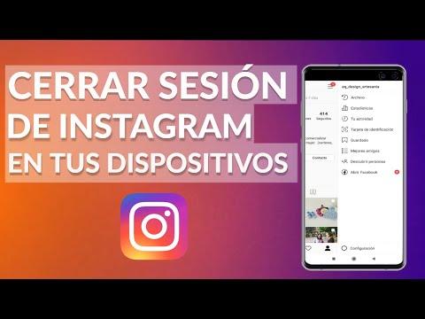 Cómo CERRAR SESIÓN de Instagram en TODOS tus Dispositivos