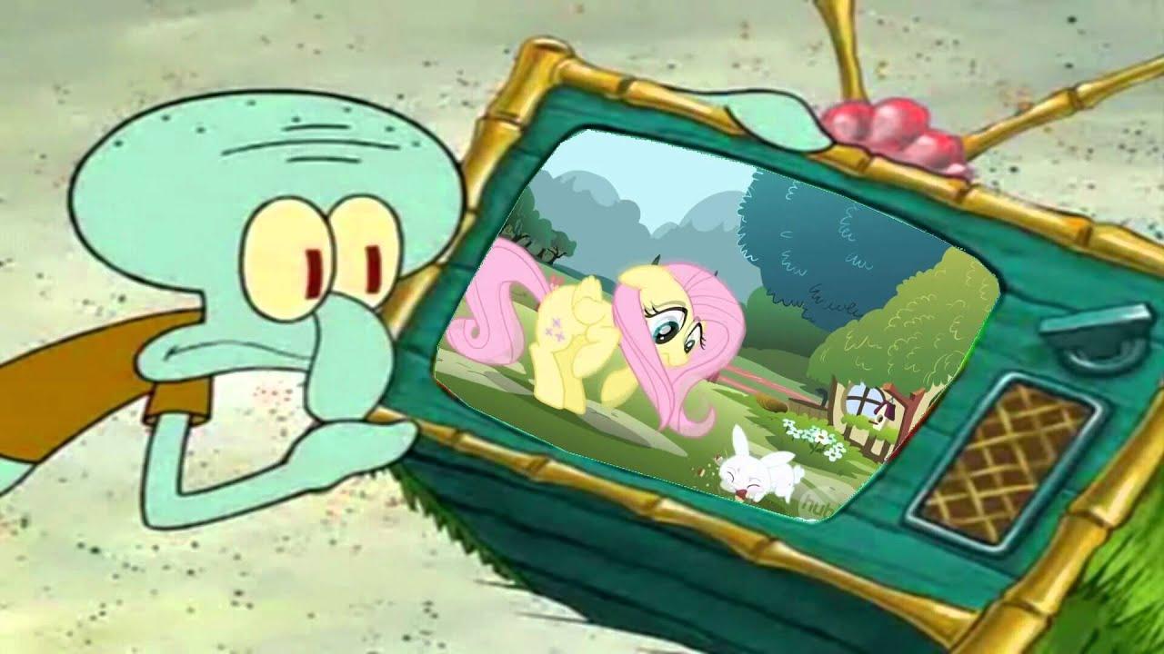 Patrick hates My Little Pony  Friendship is Magic - YouTube
