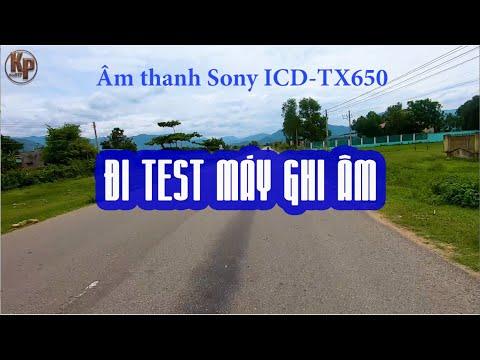 Test Máy Ghi âm Cài áo Tốt Nhất Sony TX650 Và Máy Quay Gopro Hero 7 Black