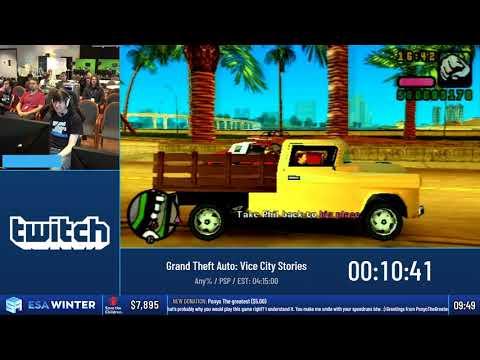 #ESAWinter19 Speedruns - Grand Theft Auto: Vice City Stories [Any%] by Joshimuz