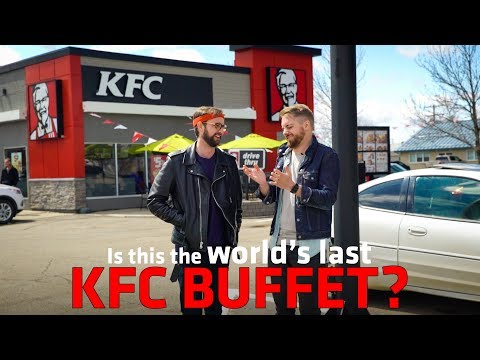 The Ace & TJ Show - The World's Last KFC Buffet!