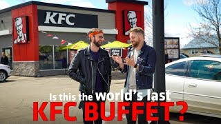 Is this the World's LAST KFC BUFFET?