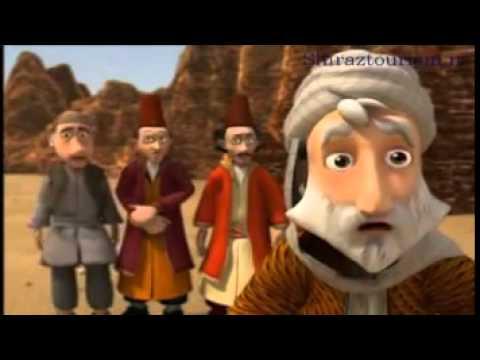 حکایات سعدی-مسافری در کاروان