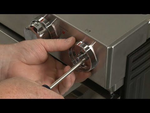 Control Knob Bezel - Kitchenaid Electric Slide-In Range Model #KSEB900ESS2