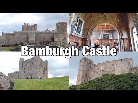 Bamburgh Castle, Northumberland, England
