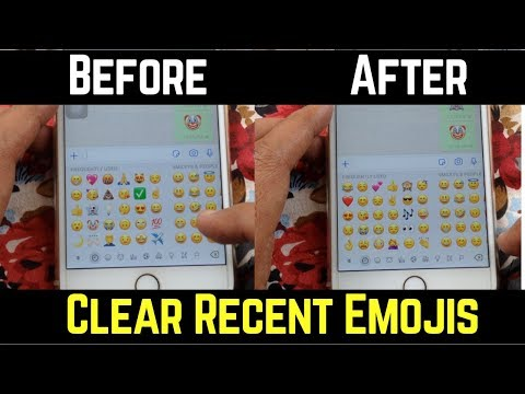 How To Clear Frequently Used Recent Emojis From Your iPhone Keyboard