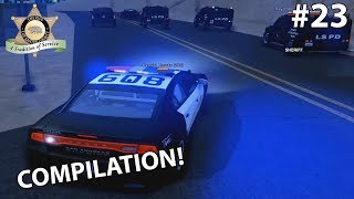 [LS-RP / LSSD] Compilation — SWAT In Action & Chasing H-RAW Murder Suspects! (#23)