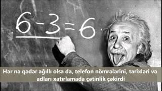 Albert Einstein haqqında 10 qəribə məlumat