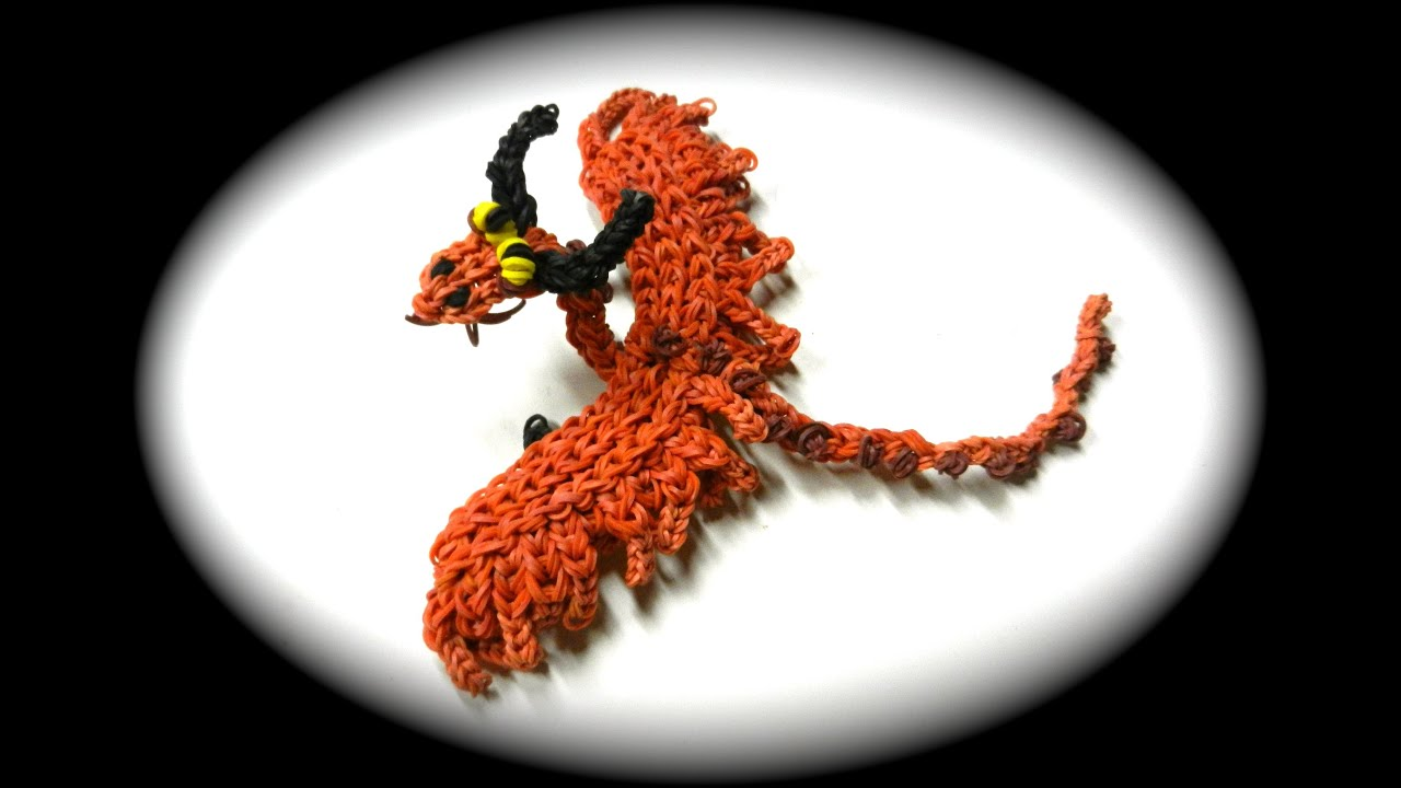 How To Loom Your Dragon Timberjack Baby 1 Loom Youtube