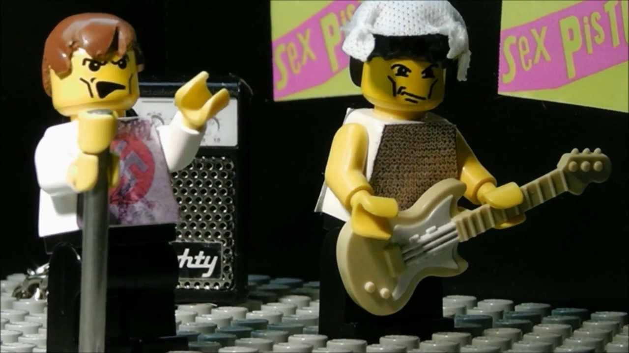 Lego Sex Pistols - God Save The Queen Hd - Youtube-7697