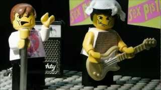 Never Mind The Bollocks, here's the best Lego Sex Pistols on the net.